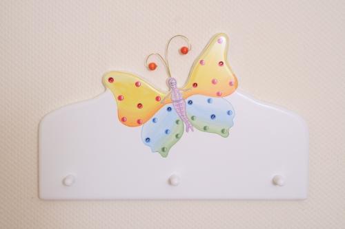 Garderobe Schmetterling
