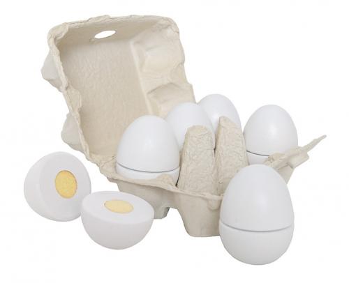 Jabadabado Holz Eier im Karton