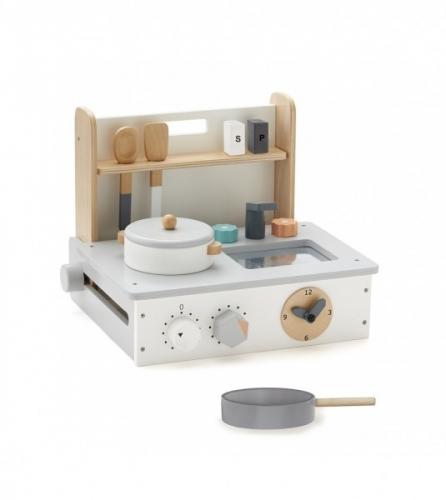 kleine Holz Spielküche klappbar