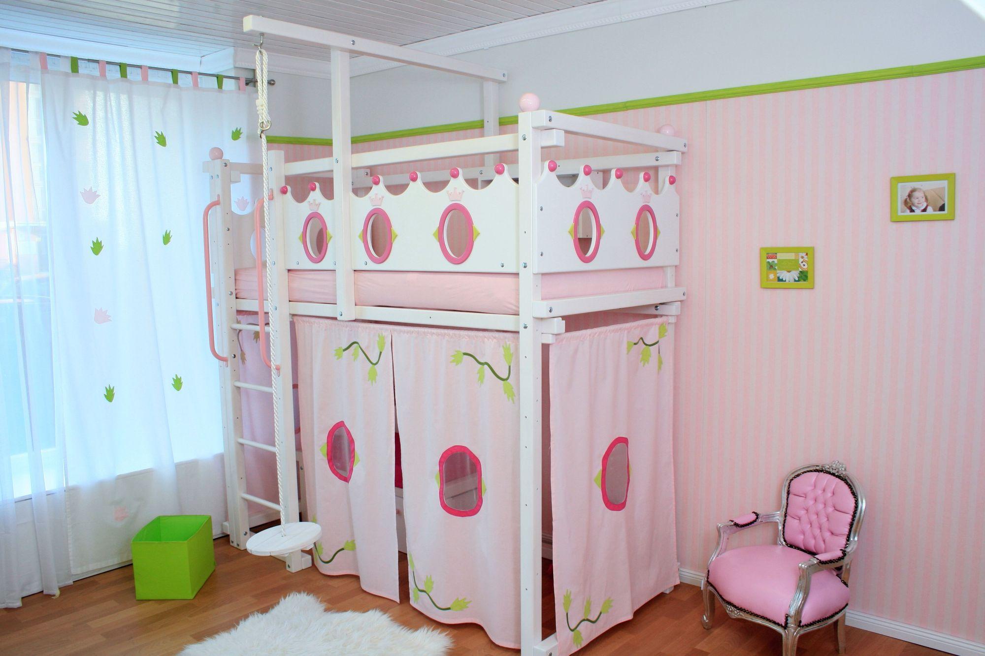 hochbett f r m dchen oli niki. Black Bedroom Furniture Sets. Home Design Ideas