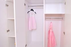 Kleiderschrank Prinzessin weiß 3 türig