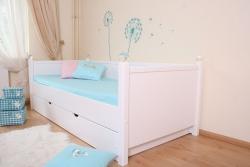 Kinderbett Weiß Kristallserie 4