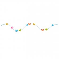 Girlande Schmetterlingsfreunde