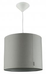 Deckenlampe Wieber grau