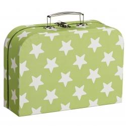 Spielkoffer Sterne grün