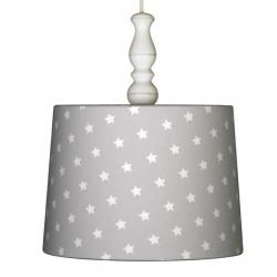 Deckenlampe Sternchen grau