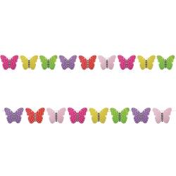 Wimpelkette Schmetterlinge