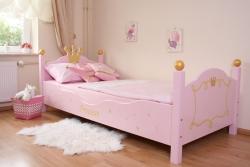 Prinzessin Bett rosa