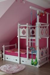 Hochbett für Prinzessinnen