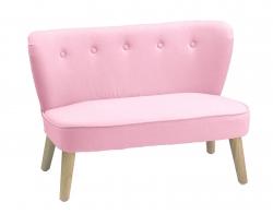 Kindersofa rosa