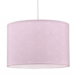Deckenlampe kleine Sterne rosa