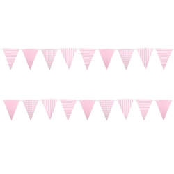 Wimpelkette rosa