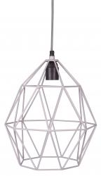 Deckenlampe Diamant grau