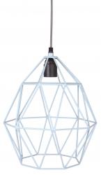 Deckenlampe Diamant blau