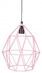Deckenlampe Diamant rosa