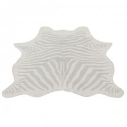 Teppich Zebra grau