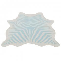 Teppich Zebra mint