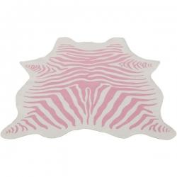 Teppich Zebra rosa