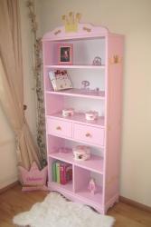 Bücherregal Prinzessin rosa