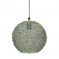 Runde Metall Deckenlampe grün Scoop