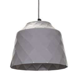 Metall Deckenlampe grau Slide