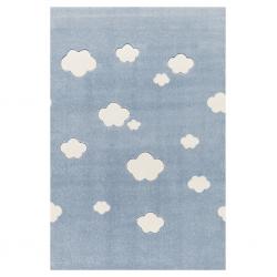 Kinderteppich Wolken blau