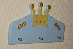 Garderobe blau Prinz