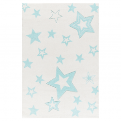Kinderteppich Starlight creme/mint