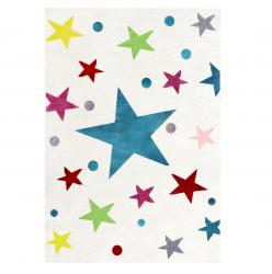 Kinderteppich Sterne bunt