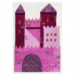 Kinderteppich Schloss Prinzessin