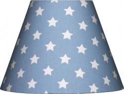 Lampenschirm Sterne blau