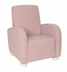 Kindersessel Luxury rosa