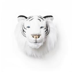 Tierkopf Trophäe weißer Tiger Albert