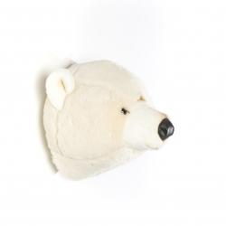 Tierkopf Trophäe Eisbär Basile
