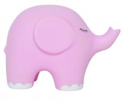 Nachtlicht Elefant rosa