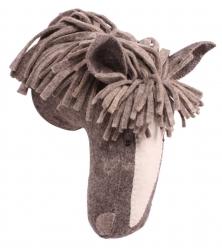 Tierkopf-Trophäe Pferd braun