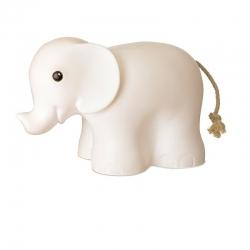 Lampe Elefant weiß
