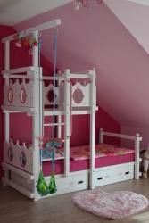 Hochbett für Mädchen