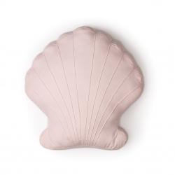 Kissen Muschel rosa
