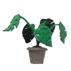 Kidsdepot Pflanze Filz Monstera