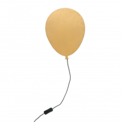 Wandlampe Ballon gold
