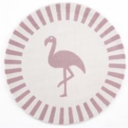 Kinderteppich Flamingo Lucy rosa