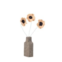 Kidsdepot Blumenvase Anemonen Filz