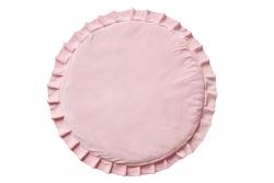 Spielmatte Samt rosa