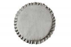Spielmatte Samt grau