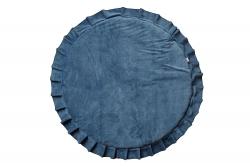 Spielmatte Samt dunkelblau
