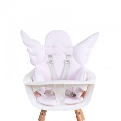 Childhome Sitzpolster Hochstuhl Engel rosa
