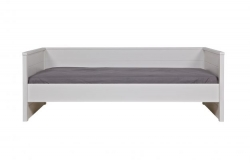 Woood Sofabett Jade weiß 90x200 cm