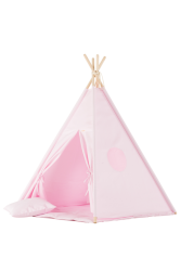 Tipi inkl. Spielmatte / Kissen rosa