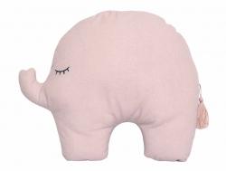 Jabadabado Kissen Elefant rosa